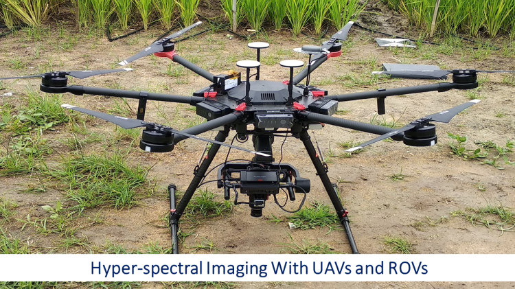 Hyper-spectral Imaging With UAVs and ROVs